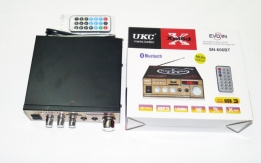 Усилитель UKC Xplod SN-606BT - Bluetooth, USB,SD,FM,MP3! 300W+300W